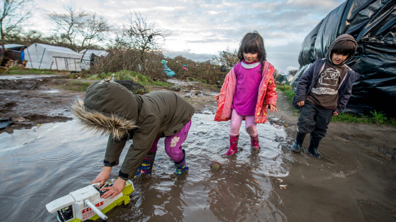 Cum arata Craciunul prin ochii refugiatilor din