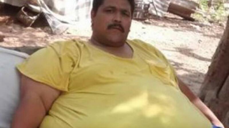Cel mai gras om din lume a murit in Mexic. Andrés Moreno avea 444 de kilograme