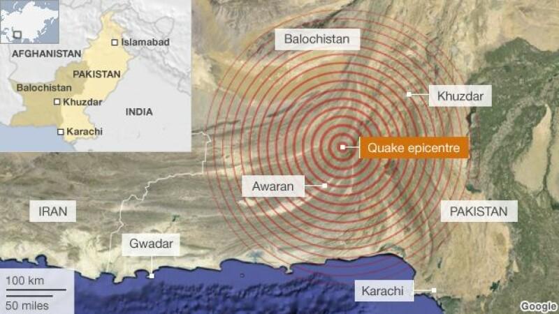 Doua cutremure cu magnitudinea de 6,2, respectiv 6,9, s-au produs in Afganistan si Pakistan