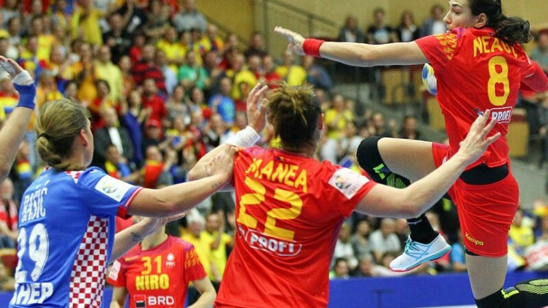 Romania a invins lejer Croatia si s-a calificat in grupele principale la Campionatul European de handbal