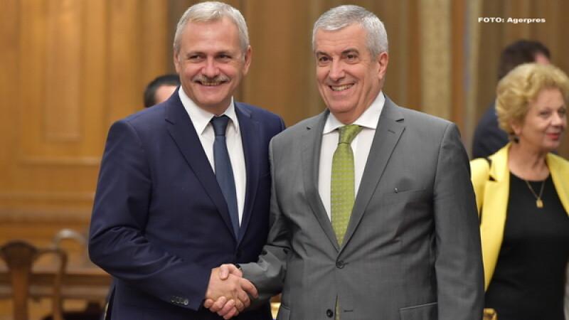 Tariceanu vrea ca Parlamentul sa adopte o declaratie care critica CSM si pe Klaus Iohannis. Dragnea a amanat dezbaterea. FOTO