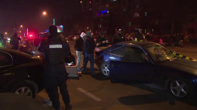Trei tineri din Targoviste, prinsi in masina cu 1,5kg de cannabis. Ce au facut dupa ce trupele speciale i-au blocat in trafic