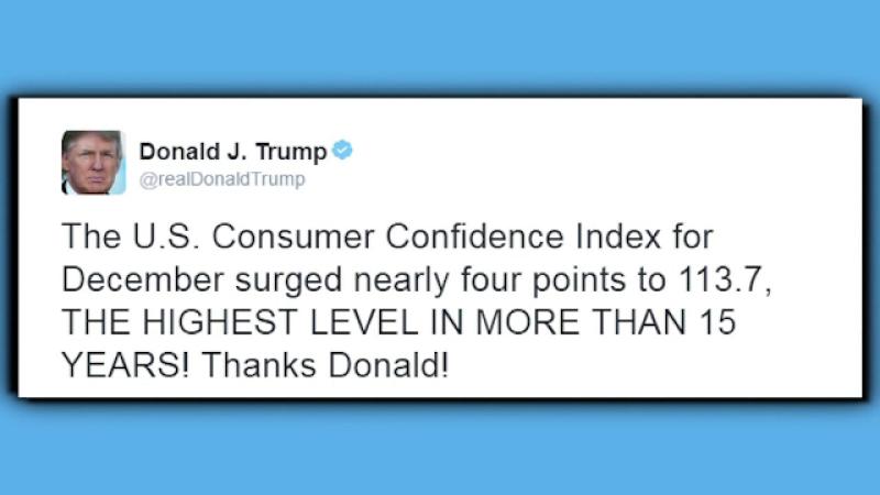 Donald Trump, mesaj de multumire catre sine. Ce si-a transmis pe Twitter presedintele SUA