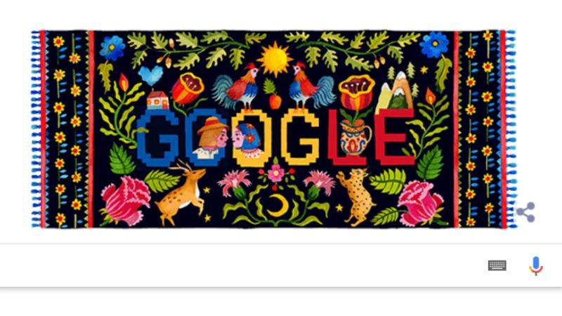 Ziua Naţională a României. Google sărbătoreşte cu un doodle special