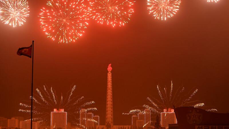 Nord-coreenii au sărbătorit, în piață, cel mai recent test cu rachetă al Phenianului
