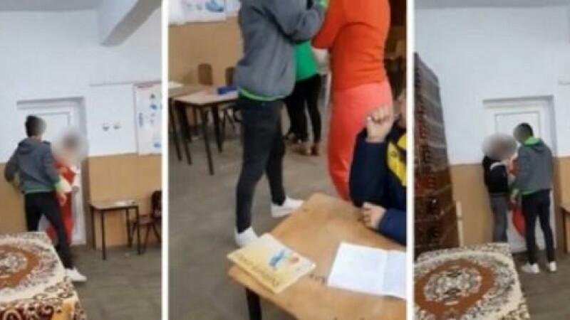 Dosar penal în cazul elevilor din Teleorman care au agresat o profesoară în şcoală