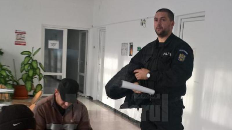 Zeci de ofițeri, mobilizați să doneze sânge pentru tânărul atacat cu o sabie