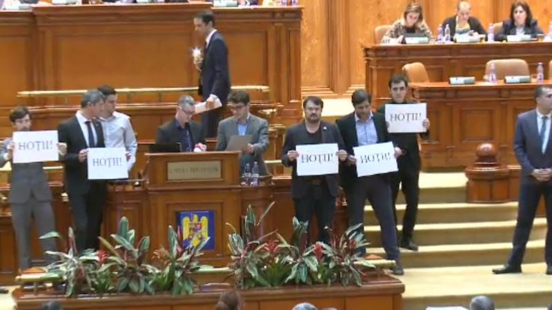 """Scandal în Parlament, din cauza statutului magistraților: """"Sunt niște hoți și veți plăti pentru asta!"""""""