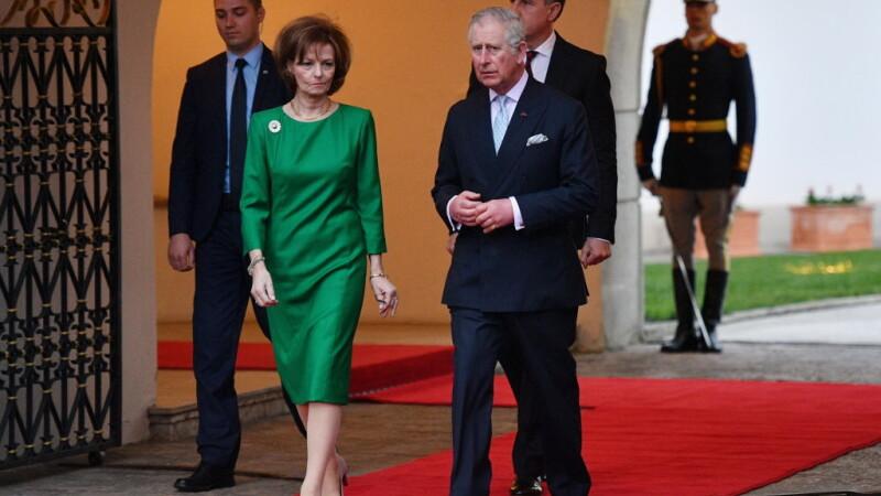Prințul Charles, prințesa Margareta
