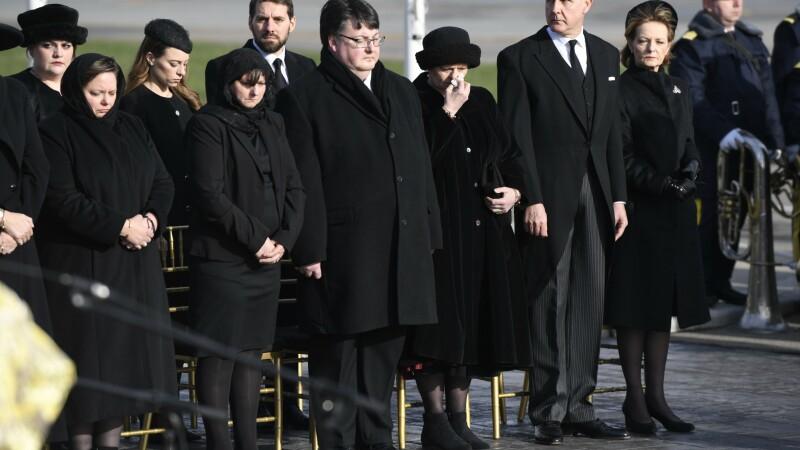 familia regala funeralii