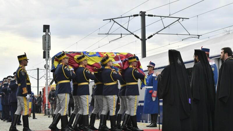 Regele Mihai, tren regal
