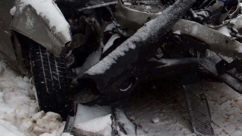 Neatentia la volan si vremea rea au facut ravagii pe drumurile din Romania
