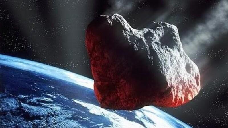 """Un asteroid, cu forta a 15 bombe atomice, la un """"pas"""" de Pamant"""
