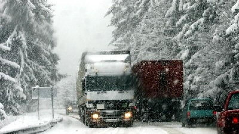 Iarna nu se lasa: probleme in trafic si temperaturi sub -10° C