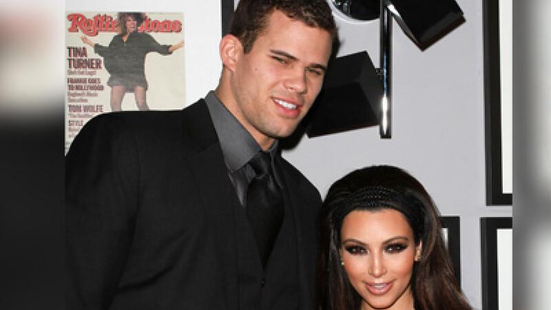 Imaginea zilei: Kim Kardashian si iubitul ei... gigant! FOTO