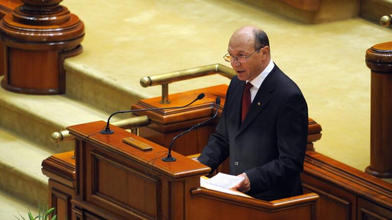 Parlamentul il asteapta pe Traian Basescu sa tina un discurs pe 7 martie, ora 11.00