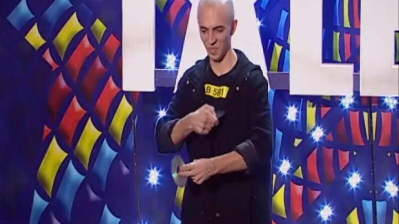 Romanii au talent: Nic Mihale, magicianul care a primit trei