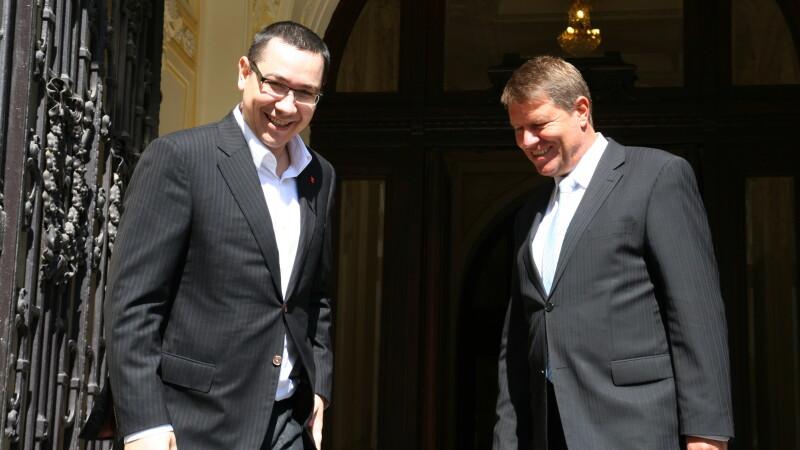 Klaus Iohannis se declara pregatit sa lucreze cu premierul Ponta daca ajunge presedinte:
