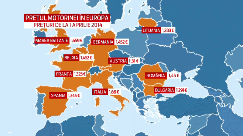 Soferii romani vor plati mai mult decat cei din Spania. Petrom vine cu o veste proasta dupa ce isi anunta recordul