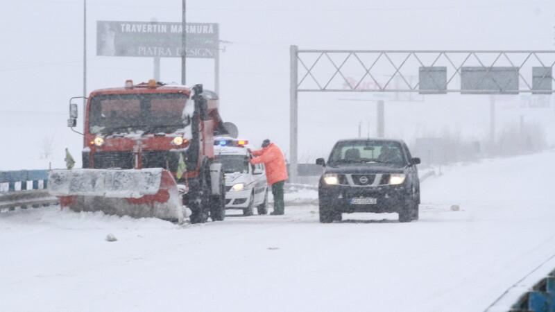 COD GALBEN si PORTOCALIU de ninsori in weekend, inclusiv in Bucuresti. Judetele care vor fi afectate