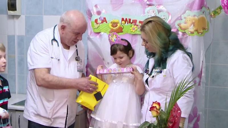 Flori, fetita care era hranita numai cu pufuleti, va putea fi adoptata. Un medic rezident vrea sa ii ofere o viata noua