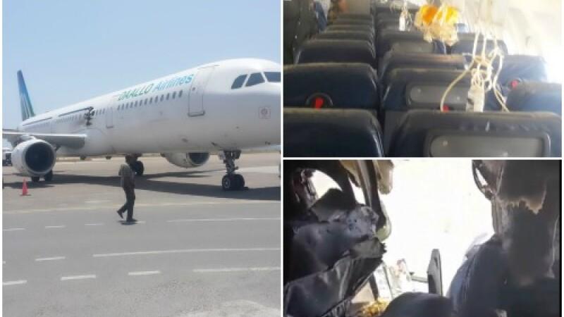 Expert: Explozia produsa la bordul Airbus-ului somalez a fost provocata de o bomba. Reactia guvernului din Somalia