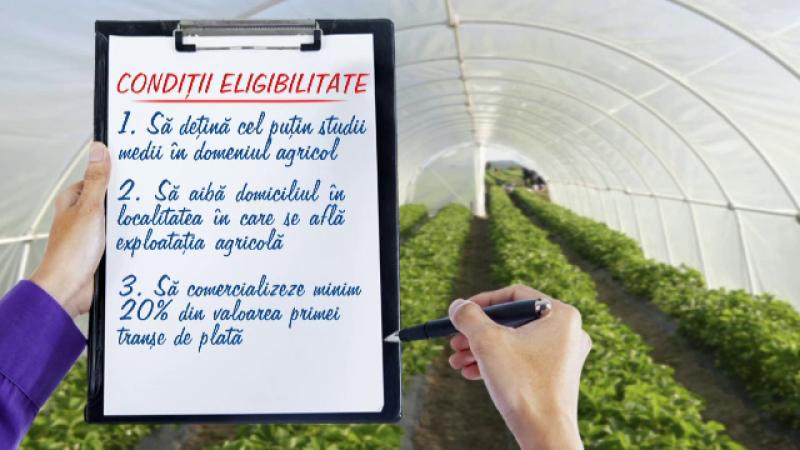 440 mil. EUR, bani nerambursabili de la UE, pentru tinerii care vor sa devina fermieri. Ce conditii trebuie sa indeplineasca