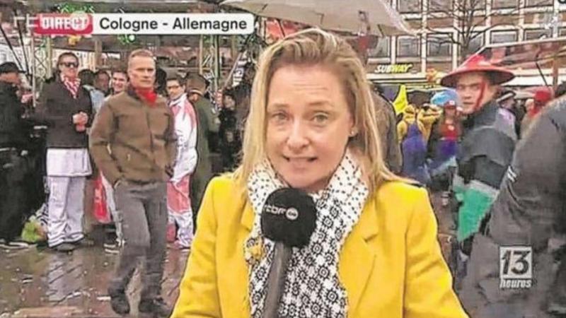 O jurnalista belgiana, agresata sexual chiar in timpul unei transmisiuni live din Germania