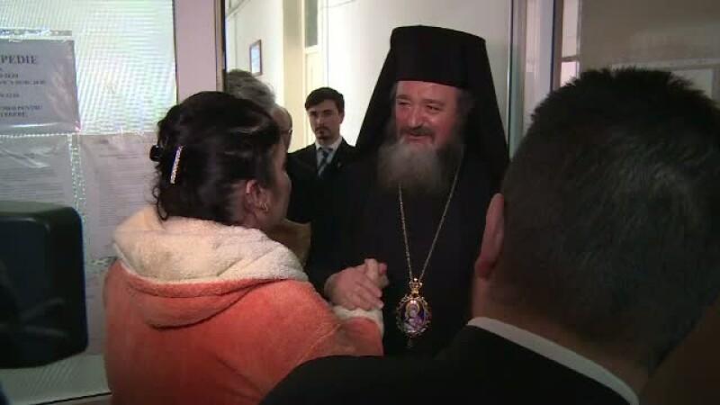 Patru preoti i-au vizitati pe cei raniti in accidentul din Ploiesti. Patriarhia a promis cate 1000 de lei pentru fiecare