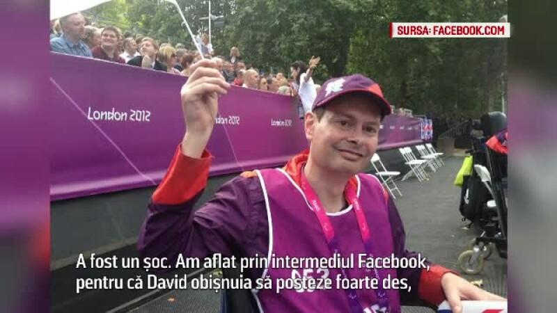 Prietenii jurnalistului englez David Vincent, gasit mort in Bucuresti, in stare de soc.