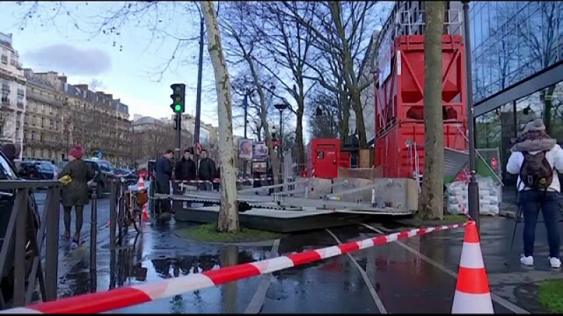 Vestul Europei, devastat de o furtuna puternica. Oameni raniti, case avariate si trafic perturbat in Marea Britanie si Franta