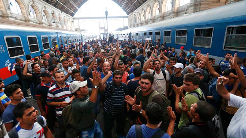 A amenintat ca va inunda UE cu migranti: II urcam in autobuze si ii trimitem. Ce veti face? Ii veti ucide?