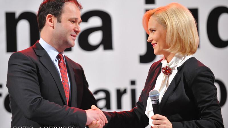 Robert Negoita, inlocuit cu Gabriela Firea la sefia PSD Bucuresti. Dragnea vorbeste despre scandaluri de santaj in partid