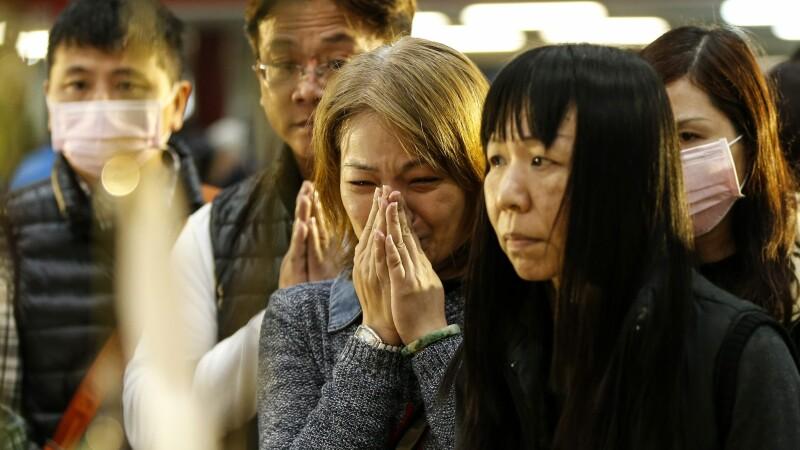 Bilantul cutremurului din Taiwan a ajuns la 114 morti. Aproape toti erau in complexul imobiliar care s-a prabusit
