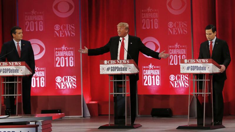 Donald Trump da vina pe George W.Bush pentru prabusirea Turnurilor Gemene. Dezbatere violenta intre candidatii republicani