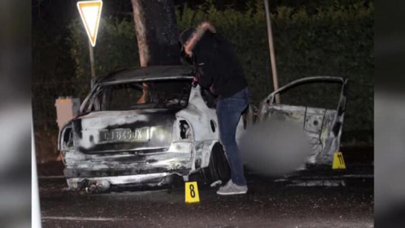 Tragedie pe o sosea din nordul Italiei. Un roman si-a scos sotia din masina in flacari, dar nu s-a putut salva si el