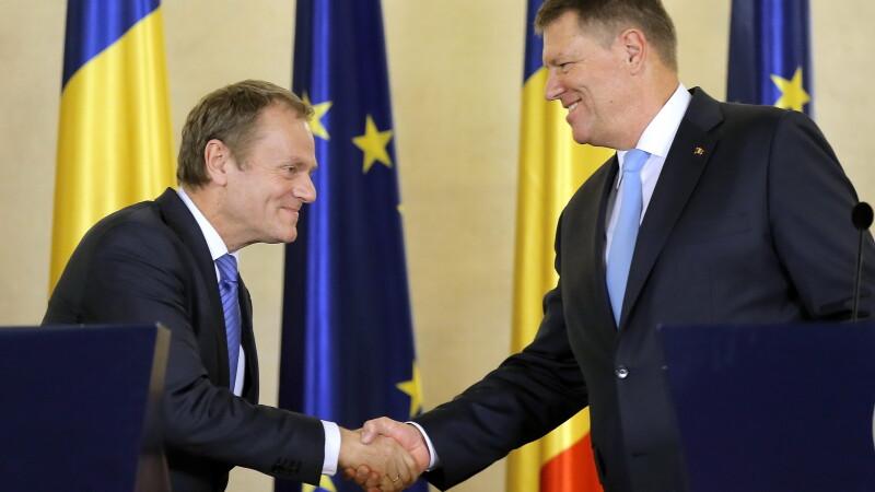 Iohannis si Tusk, discutii despre apartenenta Marii Britanii la UE.