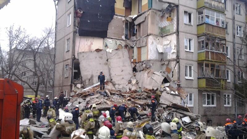 Explozie puternica intr-un bloc din Rusia, in urma unei scurgeri de gaze. Cel putin sapte persoane si-au pierdut viata