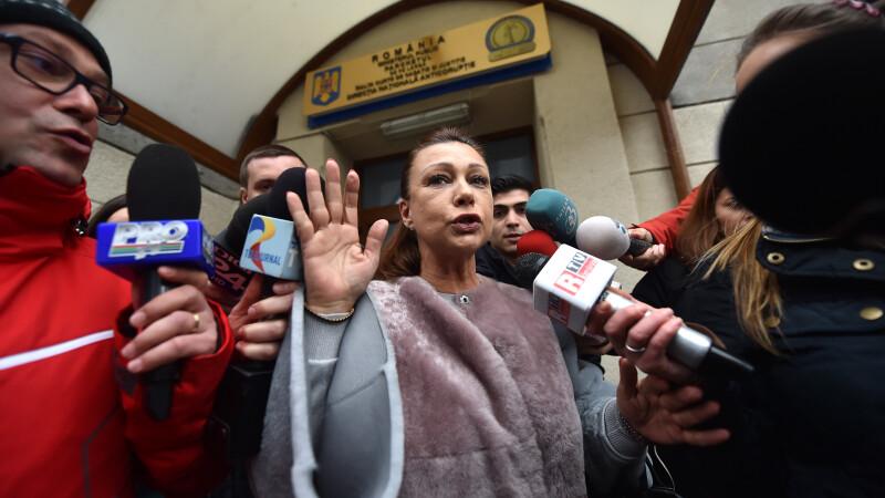 Dosarul vicepresedintelui ASF. DNA cere aviz pentru arestarea senatorului Doina Tudor.