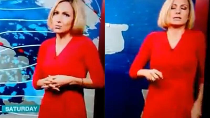 O prezentatoare meteo de la BBC a lesinat in direct. Ultimele cuvinte pe care a reusit sa le adreseze telespectatorilor