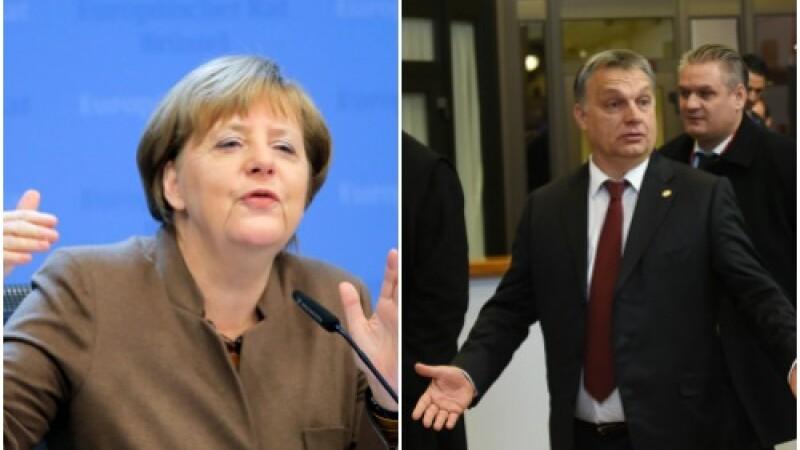 Premierul Ungariei critica dur in Bild politica Angelei Merkel: Tonul Germaniei este brutal, grosolan si agresiv