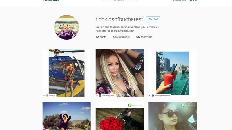 Copiii de bani gata ai Capitalei se lauda pe Instagram. Opulenta expusa in imagini, pe @richkidsofbucharest