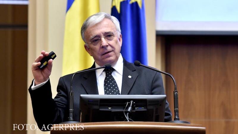 Isarescu, despre legea darii in plata: