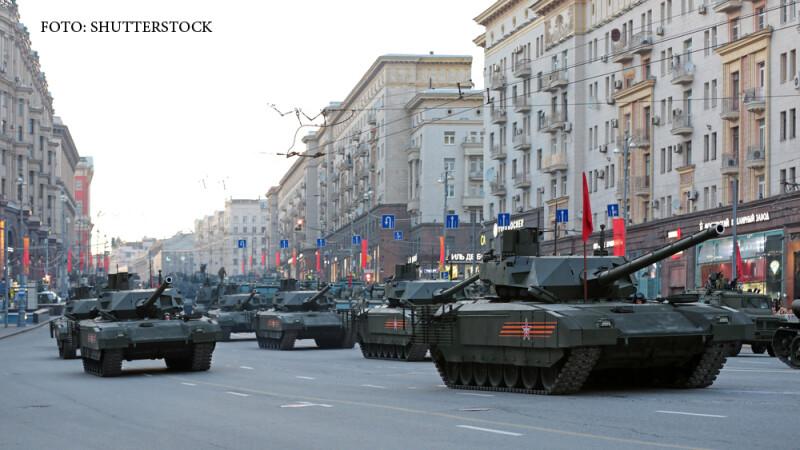 Armata rusa sustine ca noile sale tancuri sunt aproape invizibile.