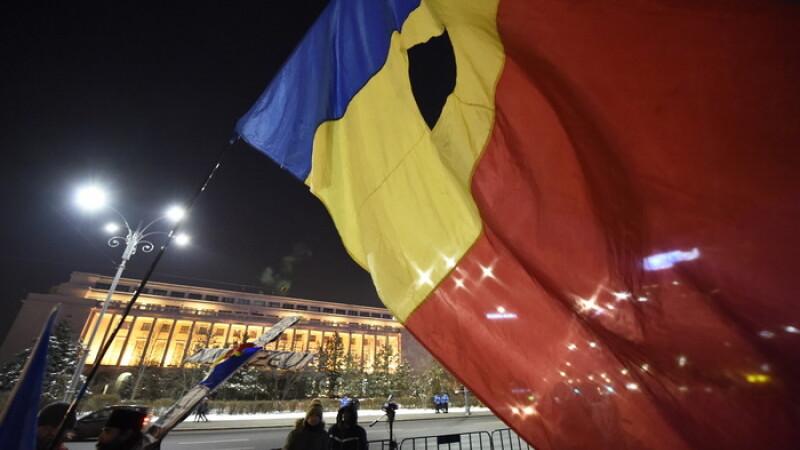 Ziua 17 de proteste: 200 de oameni au venit in Piata Victoriei. Cati s-au strans in Caransebes sa sustina Guvernul