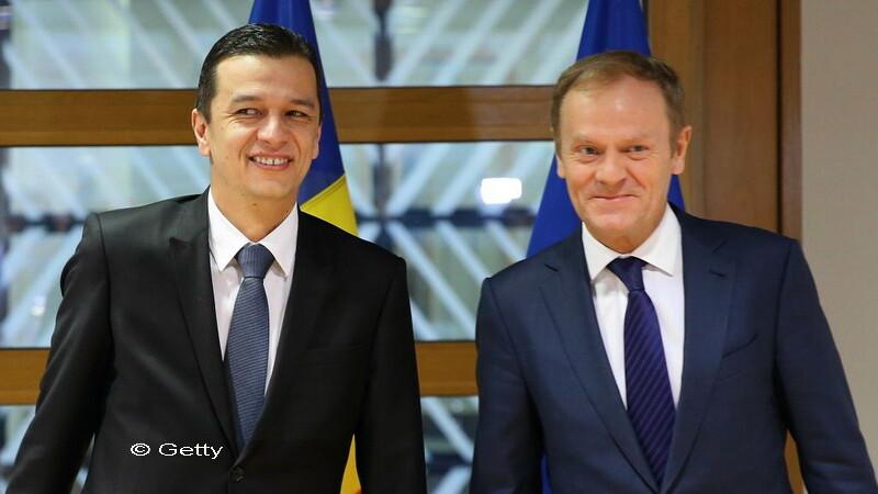 Grindeanu i-a prezentat lui Tusk prioritatile Executivului: Unitatea UE si sprijinul pentru aprofundarea integrarii europene