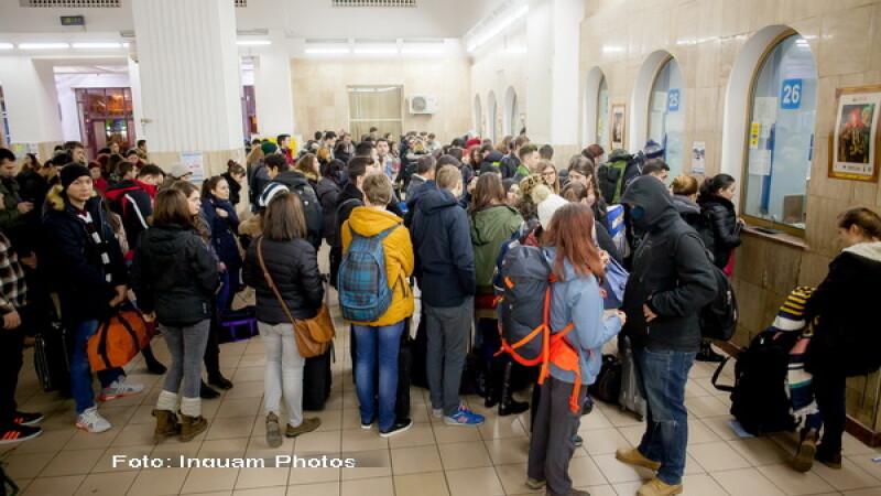 Rasturnare de situatie privind gratuitatea studentilor la calatoriile cu trenul. Anuntul facut de Ministerul Transporturilor