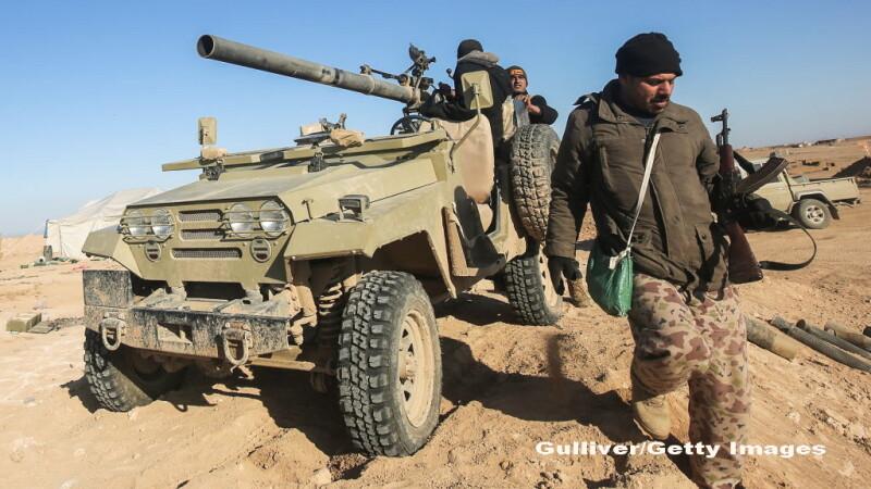 Jihadistii ISIS au lansat un atac cu arme chimice asupra armatei irakiene, in lupta pentru recucerirea orasului Mosul