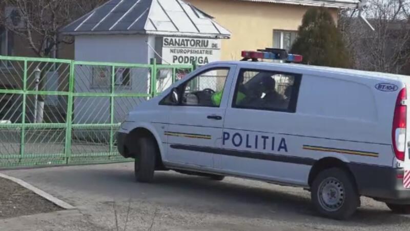 Pacient ucis intr-un sanatoriu de neuropsihiatrie din Botosani. Agresorul nu poate fi pedepsit, deoarece e bolnav psihic