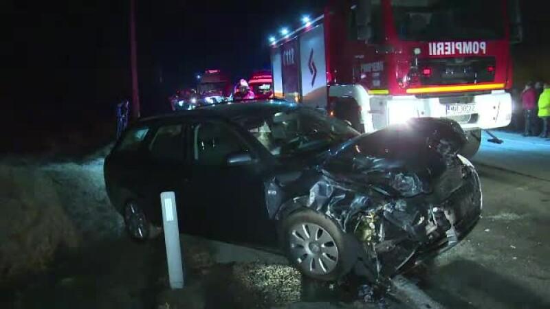 La o zi dupa ce a primit masina cadou, un tanar de 19 ani a fost implicat intr-un accident grav